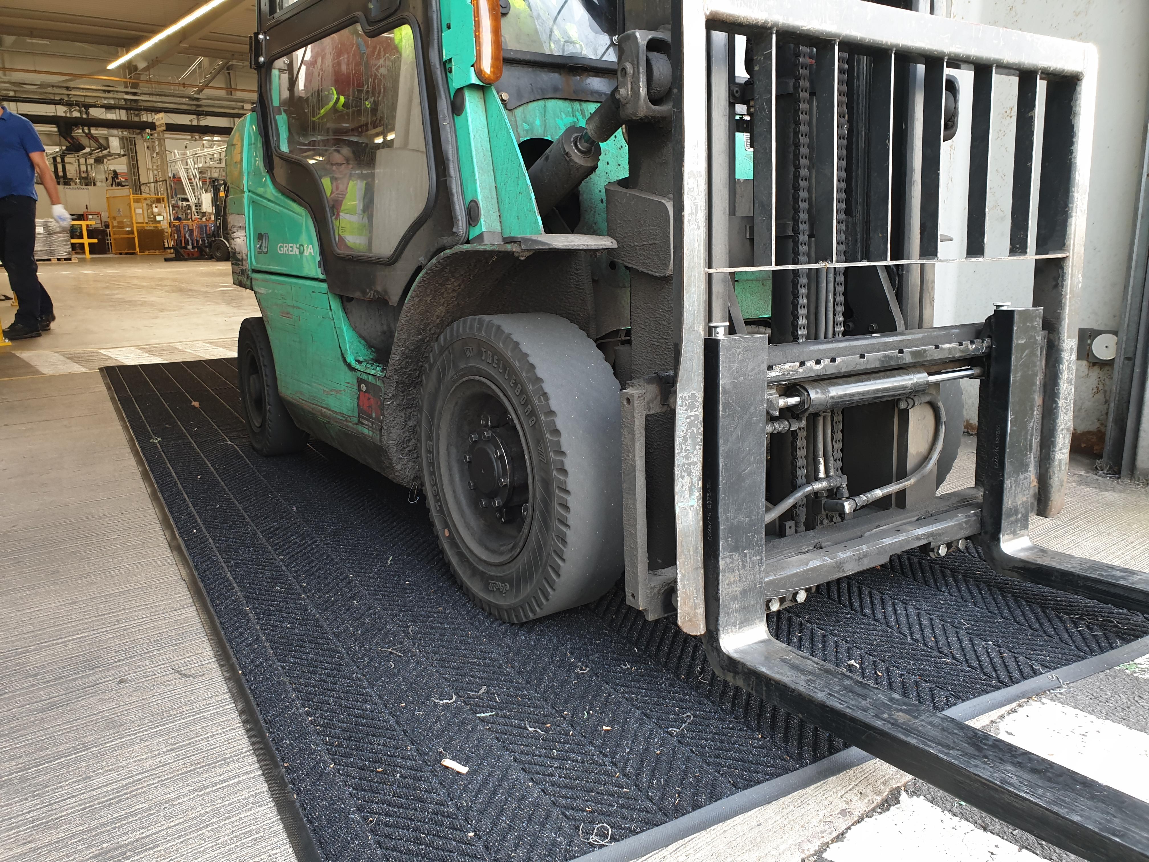 Waterhog Forklift Mat