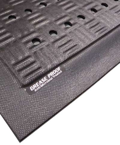 Close Up of Cushion Station Anti Fatigue Kitchen Mat