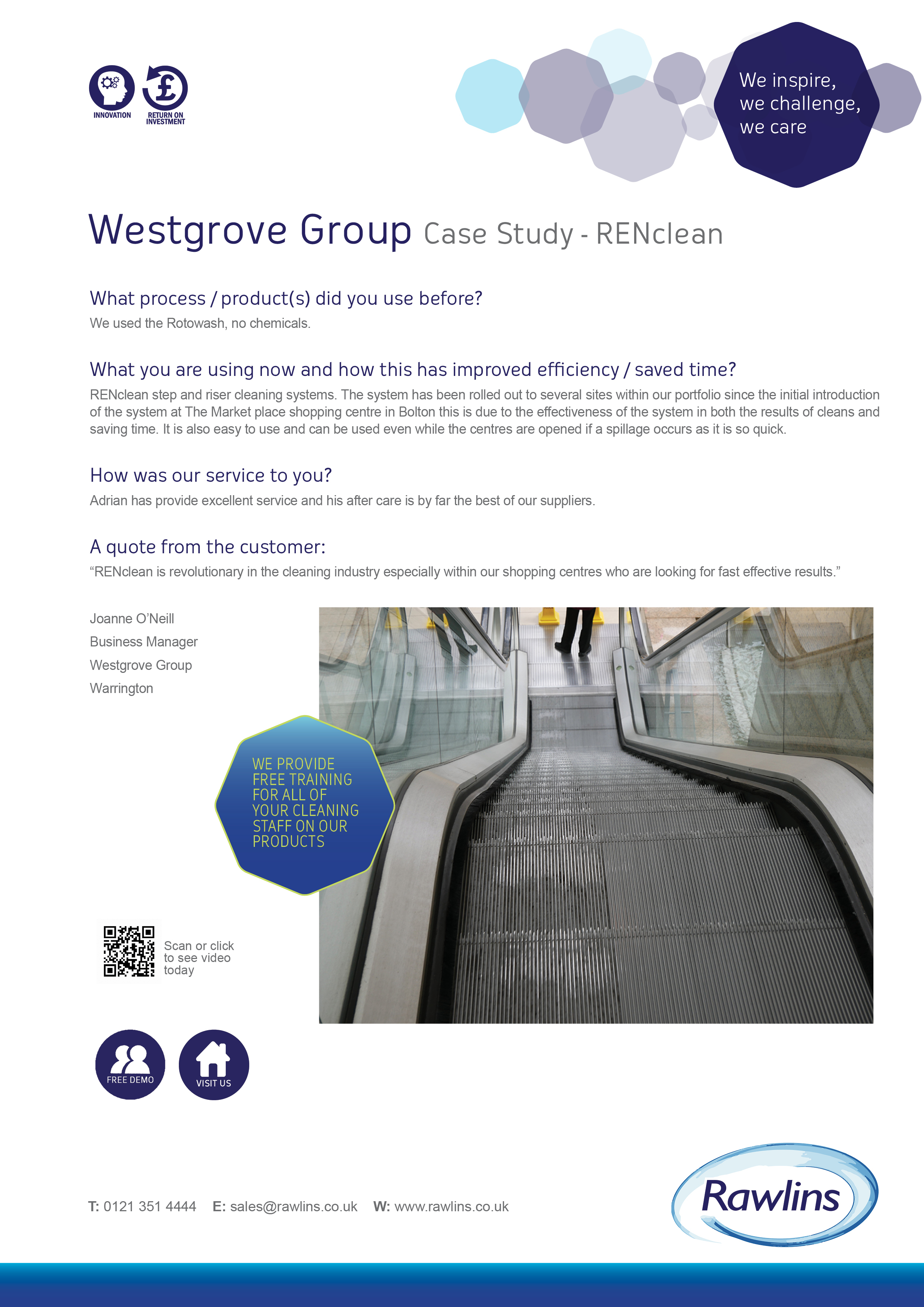 RENclean Westgrove Case Study