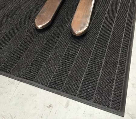 Premium Forklift Truck Mat - Close up