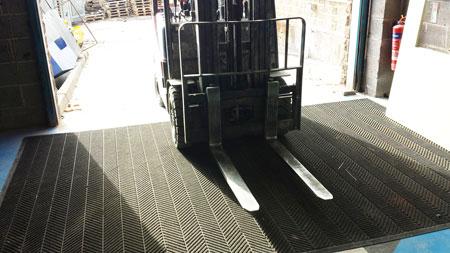 Forklift Truck Mats
