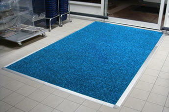 Entrance Mat fitted into a Frame