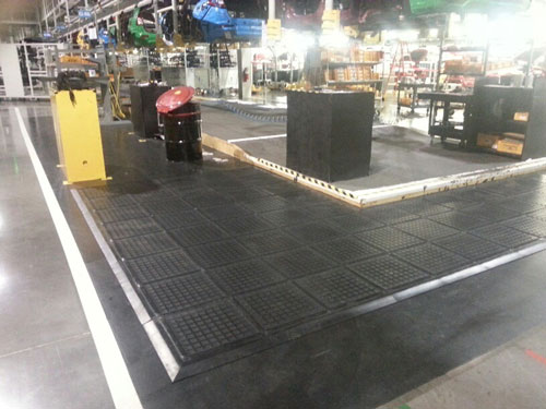 Mats for multiple areas