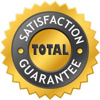 Total Satisfaction Guarantee Symbol