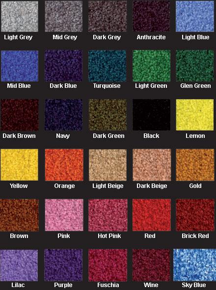 Nylon Logo Mat Colours
