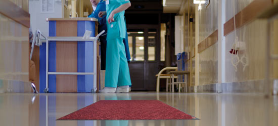 Microguard Mat in clinic