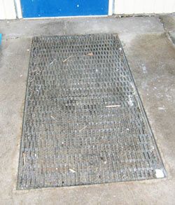 Outdoor worn Entrance Mat