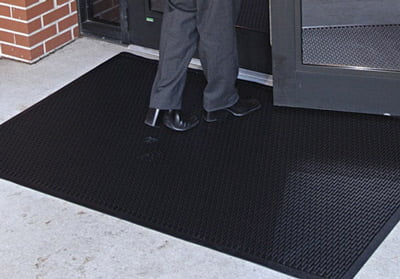 Superscrape Mat Used Outside Entrance