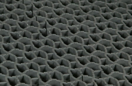 Close Up of Titan Modular Well Matting