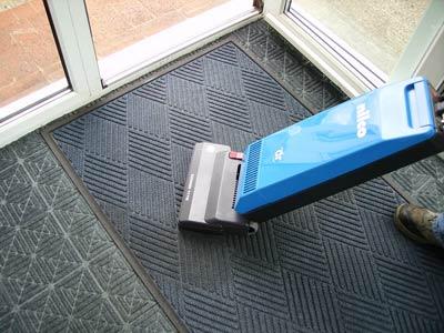 Vacuum clean your mat